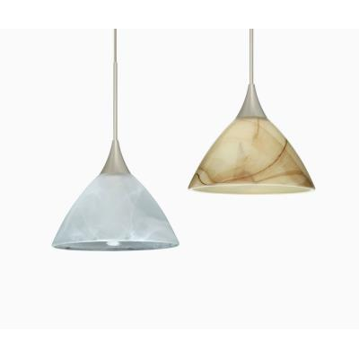 Besa Lighting Domi Mini-Pendant-1 Domi - One Light Cord Pendant with Flat Canopy