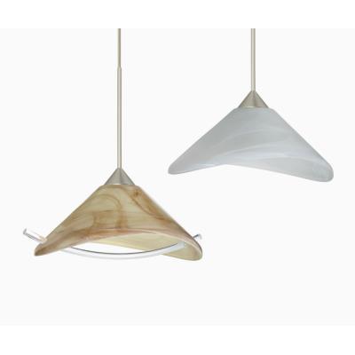 Besa Lighting Hoppi Pendant-1 Hoppi - One Light Cord Pendant with Flat Canopy