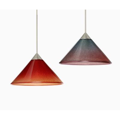 Besa Lighting Kona Pendant-1 Kona - One Light Cord Pendant with Flat Canopy
