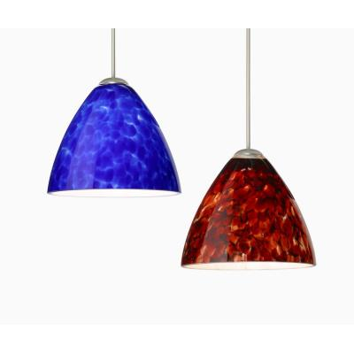 Besa Lighting Mia Pendant-1 Mia - One Light Cord Pendant with Flat Canopy