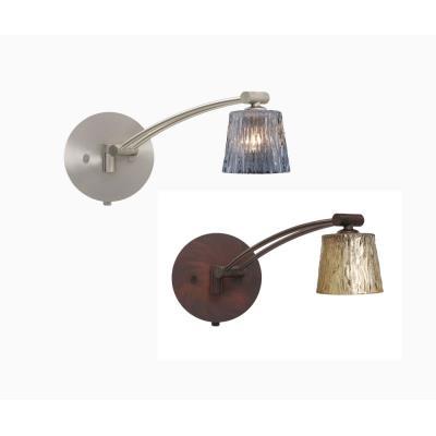 Besa Lighting Nico 3 Swing Nico 3 - One Light Swing Arm Wall Sconce with Cord and Plug Kit