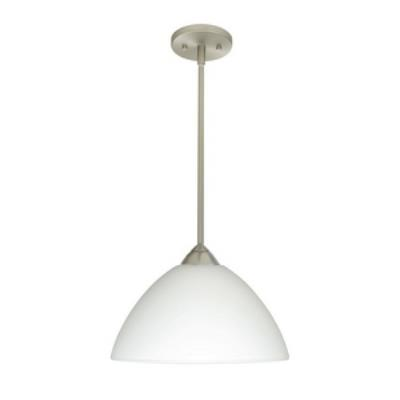 Besa Lighting 1TT-Porto-O Porto - One Light  Pendant with Flat Stem Canopy