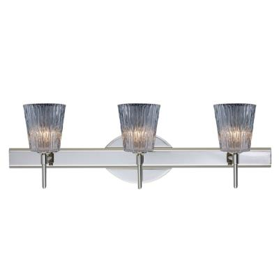 Besa Lighting Nico 4 Wall-3 Nico 4 - Three Light Bath Vanity