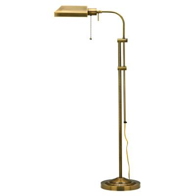 Cal Lighting BO-117FL-AB One Light Floor Lamp