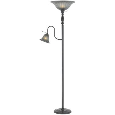 Cal Lighting BO-2052-DB Two Light Torchiere