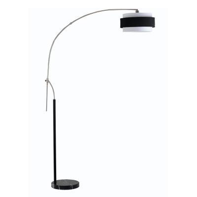 Cal Lighting BO-2100FL Santa Monica - One Light Arc Floor Lamp