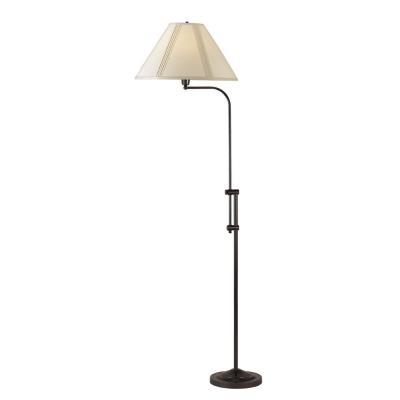 Cal Lighting BO-216-DB Pharmacy - One Light Floor Lamp with Adjustable Pole