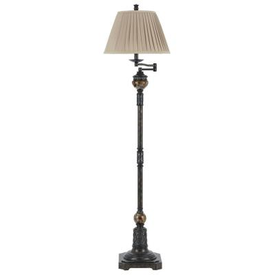 Cal Lighting BO-2299SWFL Aberdeen - One Light Swing Arm Floor Lamp
