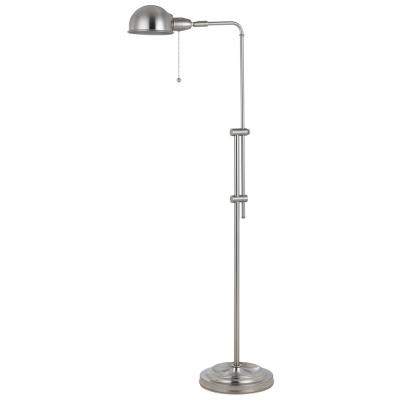 Cal Lighting BO-2441FL-BS Croby - One Light Pharmacy Floor Lamp with Adjustable Pole
