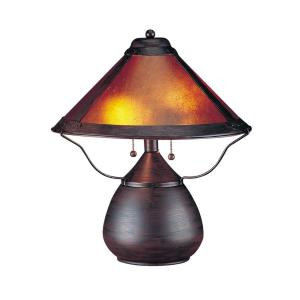Two Light Table Lamp