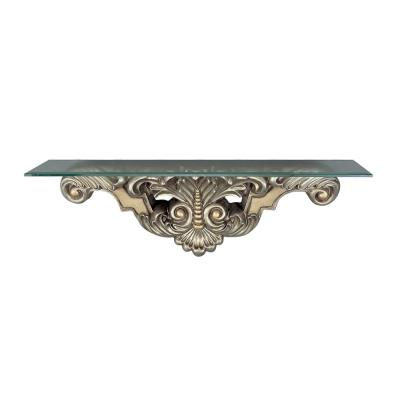 Cal Lighting BO-821CST Beads and Leaf Wall Mount Console Table
