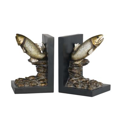 "Cal Lighting TA-677BD 7"" Trout Bookend"