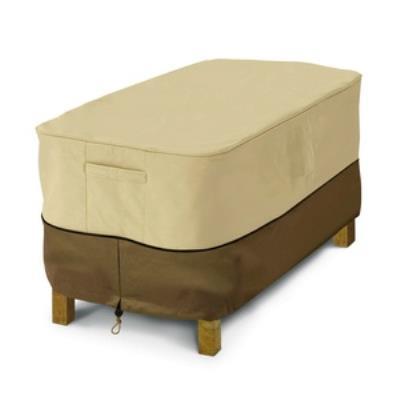 Classic Accessories 55-121-011501-00 Veranda - Coffee Table Cover Rectangular Pebrec