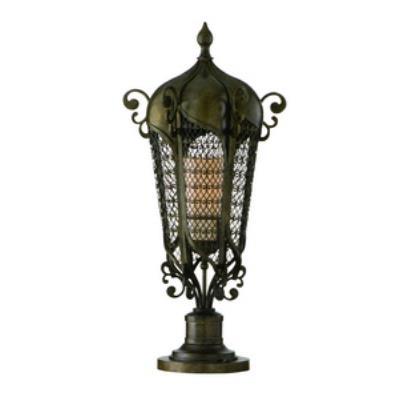 Corbett Lighting 110-82 Tangiers - One Light Outdoor Post Lantern