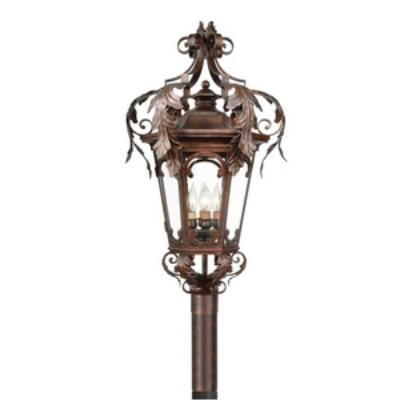 Corbett Lighting 34-83 REGENCY 4LT POST LANTERN