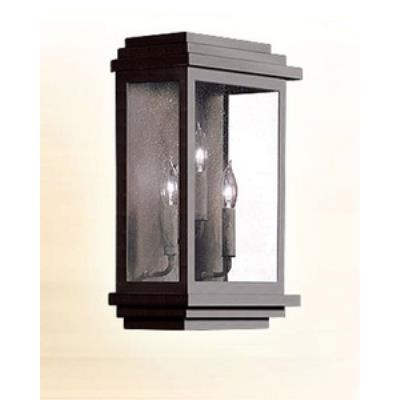Corbett Lighting 3444-1-02 La Jolla - Three Light Outdoor Wall Lantern