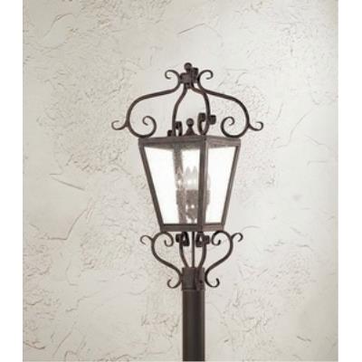 Corbett Lighting 4574-14-02 Vineyard Hill - Four Light Outdoor Post Lantern