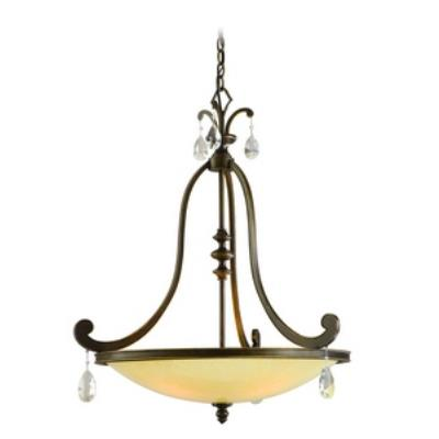 Corbett Lighting 86-74 Roma - Four Light Inverted Pendant
