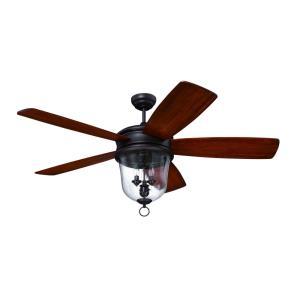 """Fredericksburg - 60"""" Ceiling Fan With Light Kit"""