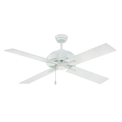 "Craftmade Lighting SB52W South Beach - 52"" Outdoor Ceiling Fan"