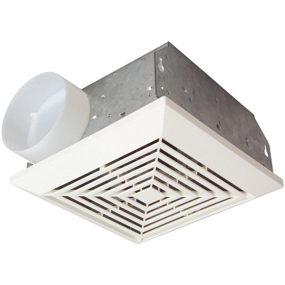 Exhaust Fans - Bathroom vent light fixture