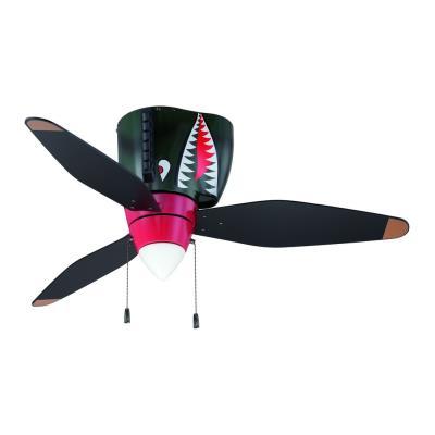 """Craftmade Lighting WB348TS Warbird - 48"""" Air Power Fan"""