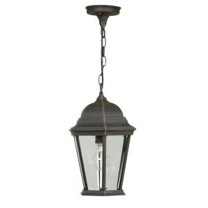 One Light Outdoor Medium Pendant