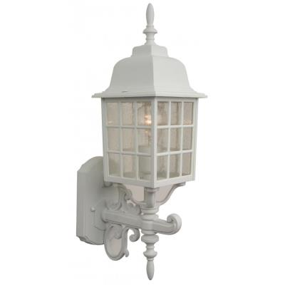 Craftmade Lighting Z274 Grid Cage - One Outdoor Medium Post Light