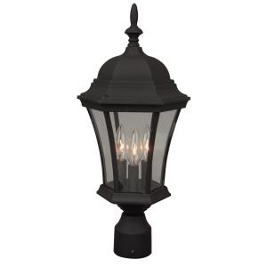 Three Light Outdoor Post Lantern
