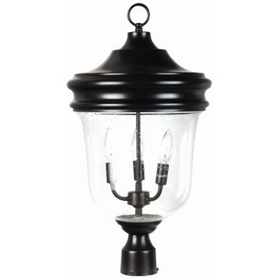 Craftmade Lighting Z4925-88 Fredericksburg - Three Light Post Lantern