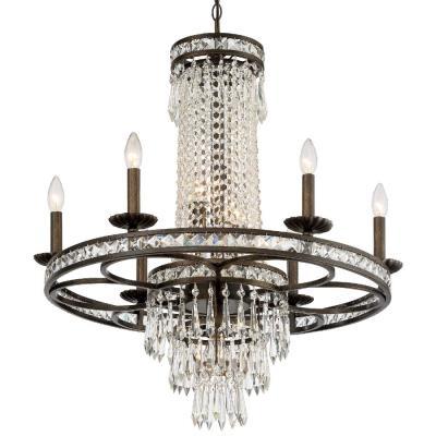 Crystorama Lighting 5266 Mercer - Six Light Chandelier