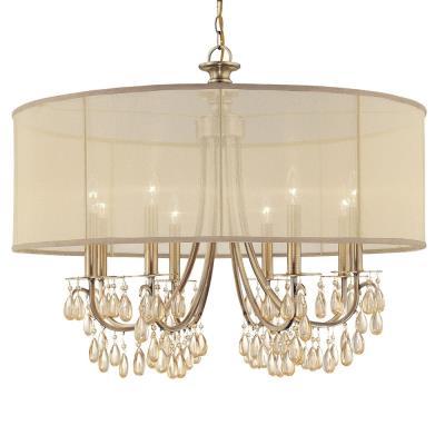 Crystorama Lighting 5628 Hampton - Eight Light Chandelier