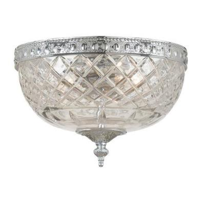 Crystorama Lighting 117 Cortland Flush Mount