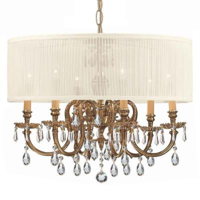 Crystorama Lighting 2916 Brentwood - Six Light Chandelier