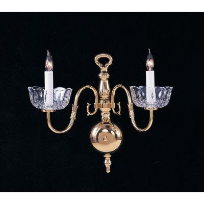 Crystorama Lighting 4202 Colonial Wall Sconce