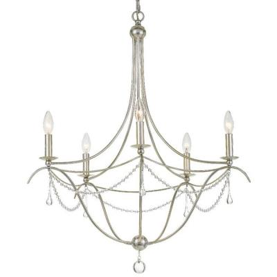 Crystorama Lighting 425 Metro II - Five Light Chandelier