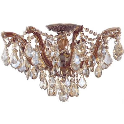 Crystorama Lighting 4437 Maria Theresa - Five Light Ceiling Mount