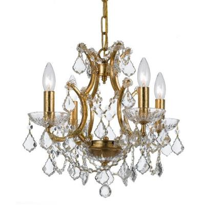 Crystorama Lighting 4454 Filmore - Four Light Chandelier