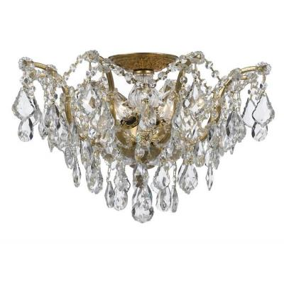 Crystorama Lighting 4457 Filmore - Five Light Flush Mount