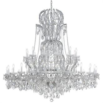 Crystorama Lighting 4460 Maria Theresa - Three Six Light Chandelier