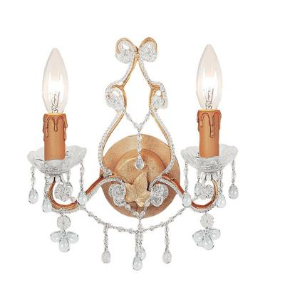 Crystorama Lighting 4522 Paris Flea Market - Two Light Wall Sconce