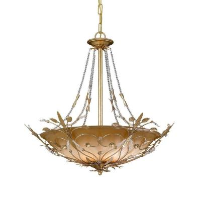 Crystorama Lighting 4700 Primrose - Six Light Chandelier