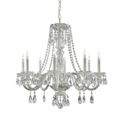 Crystorama Lighting 5048 Traditional Crystal Chandelier