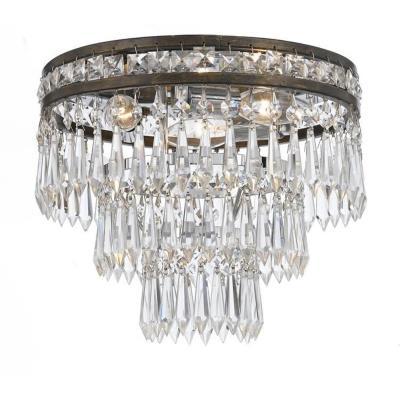 Crystorama Lighting 5260 Mercer - Three Light Ceiling Mount