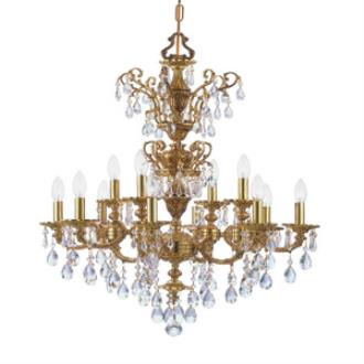 Crystorama Lighting 5512 Mirabella - Twelve Light Chandelier