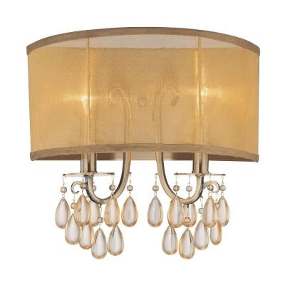 Crystorama Lighting 5622 Hampton - Two Light Wall Sconce
