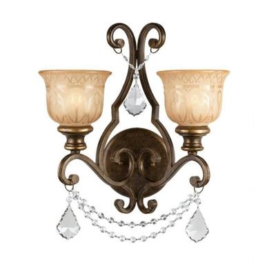 Crystorama Lighting 7502 Norwalk - Two Light Wall Sconce