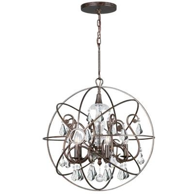Crystorama Lighting 9026 Solaris - Five Light Chandelier