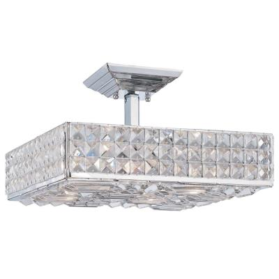 Crystorama Lighting 914 Chelsea - Four Light Ceiling Mount