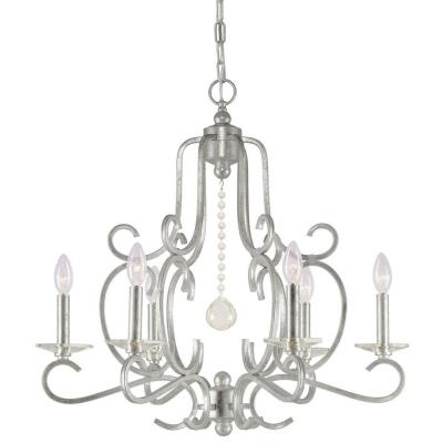 Crystorama Lighting 9346 Orleans - Six Light Chandelier
